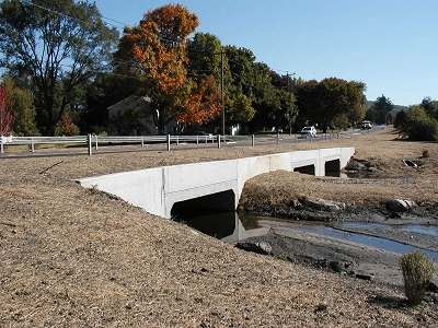 Box Culvert with CON/SPAN Type Wingwalls - Concrete Systems, Inc.