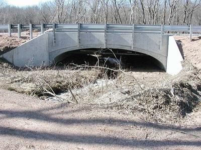 Con/Span Bridge, Monolithic Headwalls, Wing Walls - Concrete Systems, Inc.